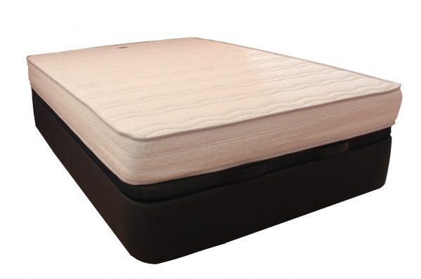 canapé abatible con colchón viscoelástico