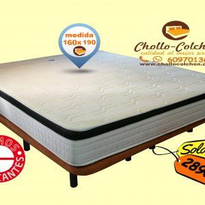 cama extra grande 160x190