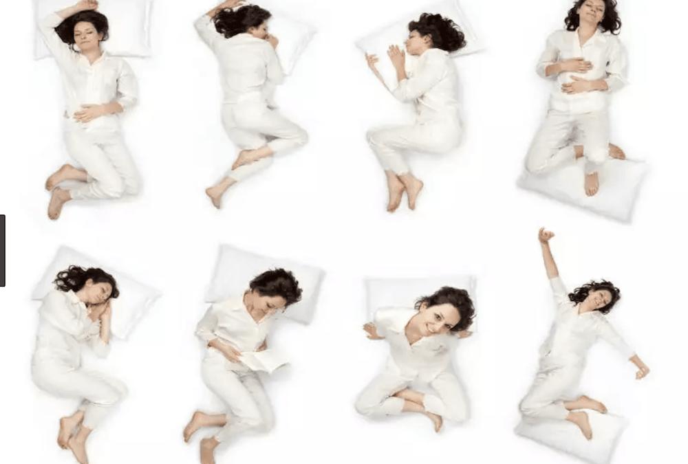 Las mejores posturas para dormir